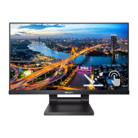"Philips B Line 242B1TC - LED monitor - 24"" (23.8"" viewable) - touchscreen - 1920 x 1080 Full HD (1080p) @ 75 Hz - IPS - 250 cd/m² - 1000:1 - 4 ms - HDMI, VGA, DisplayPort - speakers - black texture"