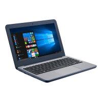 "ASUS W202NA GJ0022RA - Lay-flat design - Celeron N3350 / 1.1 GHz - Windows 10 Pro National Academic - 4 GB RAM - 64 GB eMMC - 11.6"" 1366 x 768 (HD) - HD Graphics 500 - Wi-Fi 5, Bluetooth - dark blue"