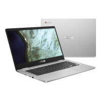 "ASUS Chromebook C423NA EB0197 - Lay-flat design - Celeron N3350 / 1.1 GHz - Chrome OS - 8 GB RAM - 32 GB eMMC - 14"" 1920 x 1080 (Full HD) - HD Graphics 500 - Wi-Fi 5 - silver (top), black (LCD cover)"