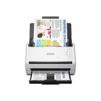 Epson DS-770 II - Document scanner - Contact Image Sensor (CIS) - Duplex - 215.9 x 6096 mm - 600 dpi x 600 dpi - up to 45 ppm (mono) / up to 45 ppm (colour) - ADF (100 sheets) - up to 7000 scans per day - USB 3.0