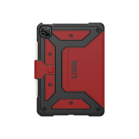 """UAG Rugged Case for iPad Pro 11-in (3rd Gen, 2021) - Metropolis Magma - Flip cover for tablet - rugged - magma - 10.9"""" - 11"""" - for Apple 11-inch iPad Pro (3rd generation)"""