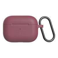 [U] DOT for Apple AirPods Pro - Hard case for wireless earphones - silicone - dusty rose - for Apple AirPods Pro
