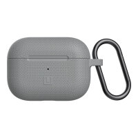 [U] DOT for Apple AirPods Pro - Hard case for wireless earphones - silicone - grey - for Apple AirPods Pro