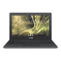 """ASUS Chromebook C204MA GJ0208 - Lay-flat design - Celeron N4020 / 1.1 GHz - Chrome OS - 4 GB RAM - 32 GB eMMC - 11.6"""" 1366 x 768 (HD) @ 60 Hz - UHD Graphics 600 - Wi-Fi 5, Bluetooth - dark grey"""