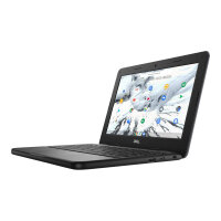 "Dell Chromebook 3100 - Celeron N4020 / 1.1 GHz - Chrome OS - 4 GB RAM - 32 GB eMMC - 11.6"" TN 1366 x 768 (HD) @ 60 Hz - UHD Graphics 600 - Wi-Fi, Bluetooth - black - BTS - with 1 Year Dell Collect and Return Service"