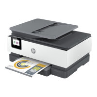 HP Officejet Pro 8022e All-in-One - Multifunction printer - colour - ink-jet - Legal (216 x 356 mm) (original) - A4/Legal (media) - up to 13 ppm (copying) - up to 20 ppm (printing) - 225 sheets - 33.6 Kbps - USB 2.0, LAN, Wi-Fi(n)