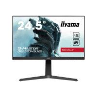 "iiyama G-MASTER Red Eagle GB2570HSU-B1 - LED monitor - 24.5"" - 1920 x 1080 Full HD (1080p) @ 165 Hz - Fast IPS - 400 cd/m² - 1000:1 - 0.5 ms - HDMI, DisplayPort - speakers - matte black"