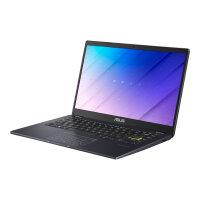"ASUS E410MA BV810R - Lay-flat design - Celeron N4020 / 1.1 GHz - Win 10 Pro - 4 GB RAM - 64 GB eMMC - 14"" 1366 x 768 (HD) - UHD Graphics 600 - Wi-Fi 5, Bluetooth - black (bottom), black (top), peacock blue (LCD cover)"