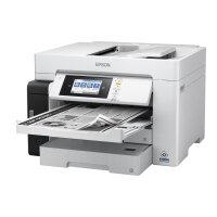 Epson EcoTank Pro ET-M16680 - Multifunction printer - B/W - ink-jet - A3 (media) - up to 25 ppm (printing) - 550 sheets - USB 2.0, LAN, USB host, Wi-Fi(ac)