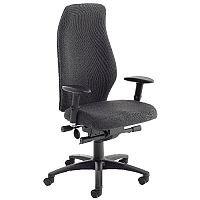 Avior Super Deluxe Extra High Back Ergonomic Posture Office Chair Black