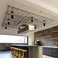 Bespoke Ceilings by HuntOffice Interiors