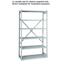 Bisley Shelving Extension Kit W1000 x D460mm Grey BY838033