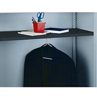 Bisley Wardrobe Shelf Black 7035 BWSBlack