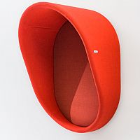 Booth Wall-Mounted Telephone Hood