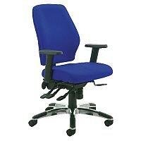 Cappela Agility High Back Ergonomic Posture Office Chair Blue Kf73886