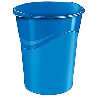 CEP Pro Gloss Office Waste Desk Bin Blue 14 Litres