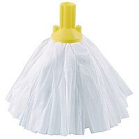 Contico Standard Big White Exel Mop Head Yellow Pack of 10 PSYE1210P