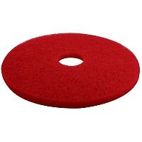 Contico 17 inch Floor Buffing Pad Red Pack of 5 F17RD