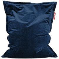Slim Velvet Bean Bag 155x120cm Dark Blue Suitable for Indoor Use - Fatboy The Original Bean Bag Range