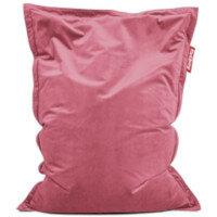 Slim Velvet Bean Bag 155x120cm Deep Blush Suitable for Indoor Use - Fatboy The Original Bean Bag Range