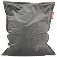 Slim Velvet Bean Bag 155x120cm Taupe Suitable for Indoor Use - Fatboy The Original Bean Bag Range