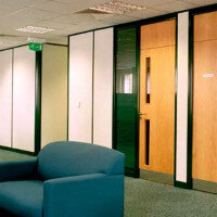 Tenon FINESSE Double Glazed Demountable Partitioning System