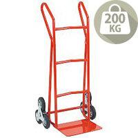 Hand Truck Heavy Duty SC3 Stair Climbing Rubber Wheels 200kg Capacity 309044