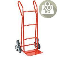 Hand Truck Heavy Duty SC3 Stair Climbing Rubber Wheels 200kg Capacity 309049