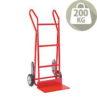 Hand Truck Heavy Duty Stair Climbing Crawler Tracks With Rubber Wheels 200kg Capacity 309043