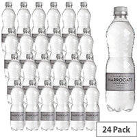 Harrogate Spa Natural Bottled Water Sparkling 500ml Pet Bottle Pack of 24