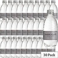 Harrogate Sparkling Water Plastic 330ml Bottle Silver Label Pack of 30