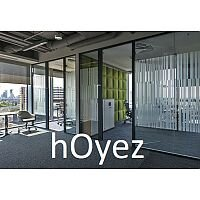 hOyez Partitioning H7 - H7 Partitioning Has Filling Supports With 30mm Covering Trims. Single & Double Glazing Optional.