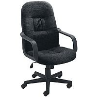 Jemini High Back Managers Office Chair Charcoal