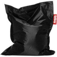 Junior Bean Bag 130x100cm Black Suitable for Indoor Use - Fatboy The Original Bean Bag Range