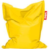 Junior Bean Bag 130x100cm Yellow Suitable for Indoor Use - Fatboy The Original Bean Bag Range