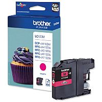 Brother LC-123M Magenta Inkjet Cartridge LC123M