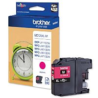 Brother LC-125XLM Magenta High Yield Inkjet Cartridge LC125XLM