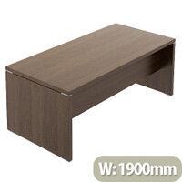 Quando Executive Desk 1900 x 900mm - Chestnut