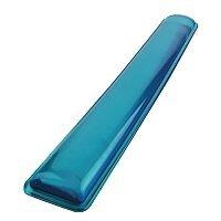 Q-Connect Clear Gel Keyboard Wrist Rest Blue KF20088