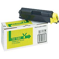 Kyocera TK 580Y Yellow Toner 1T02KTANL0