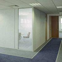 Logika 3000 Single Glazed Glass Office Partitioning System