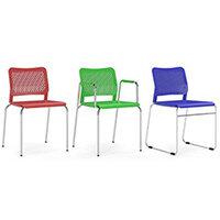 Narbutas WAIT Visitors & Meeting Room Chairs & Stools