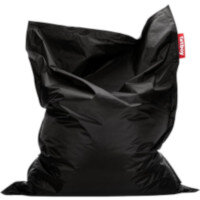 Large Bean Bag 180x140cm Black Suitable for Indoor Use - Fatboy The Original Bean Bag Range