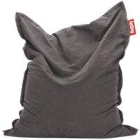 Large Stonewashed Bean Bag 180x140cm Grey Suitable for Indoor Use - Fatboy The Original Bean Bag Range