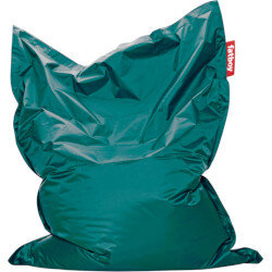 Large Bean Bag 180x140cm Turquoise Suitable for Indoor Use - Fatboy The Original Bean Bag Range