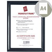 Photo Album Company Promote It Frame A4 Black PAPFA4B-BLK