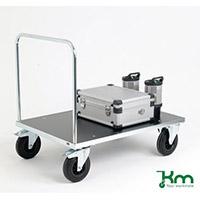 VFM Silver Platform Truck Single Bar 1000x700mm 376409 500kg