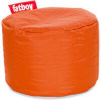 The Point Bean Bag Pouf Stool 35x50cm Orange Suitable for Indoor Use - Fatboy The Original Bean Bag Range