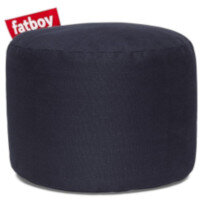 The Point Stonewashed Bean Bag Pouf Stool 35x50 Dark Blue Suitable for Indoor Use - Fatboy The Original Bean Bag Pouf Stool Range