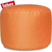 The Point Stonewashed Bean Bag Pouf Stool 35x50 Orange Suitable for Indoor Use - Fatboy The Original Bean Bag Pouf Stool Range